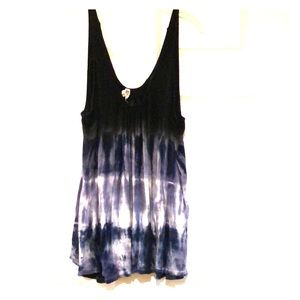 Free people tie dye tunic